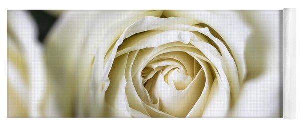 Whie Rose Softly Yoga Mat