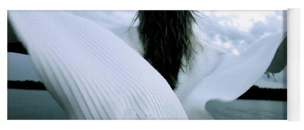 White Angel Yoga Mat