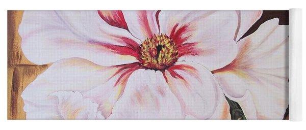 White Beauty Yoga Mat