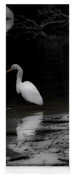 White Heron Yoga Mat