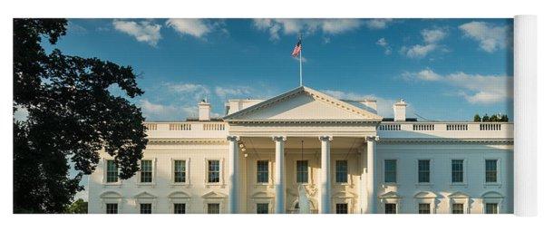 White House Sunrise Yoga Mat