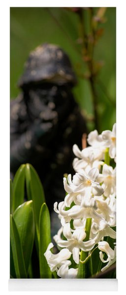 White Hyacinth In The Garden Yoga Mat
