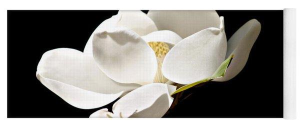 White Magnolia  Yoga Mat