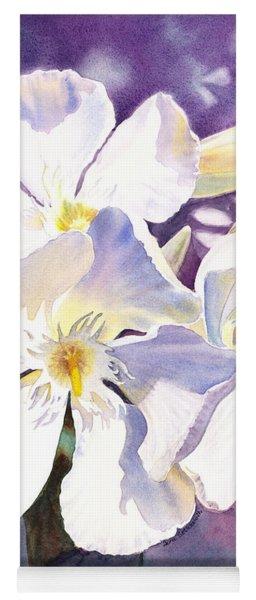 White Oleander Yoga Mat