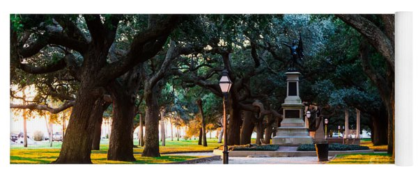 White Point Garden Walkway Charleston Sc Yoga Mat