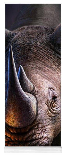 White Rhino Yoga Mat