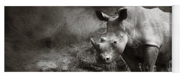 White Rhinoceros Yoga Mat