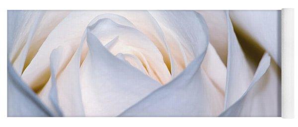 White Rose Yoga Mat