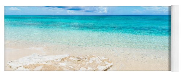 White Sand Yoga Mat