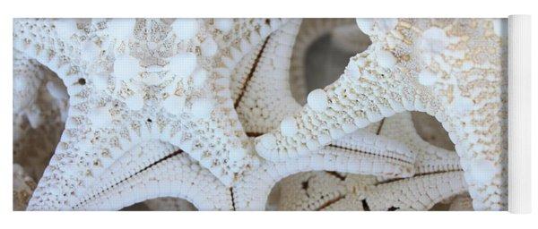 White Starfish Yoga Mat