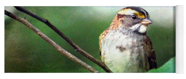 White-throated Sparrow Yoga Mat