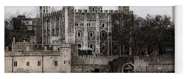 White Tower At Tower Of London Yoga Mat