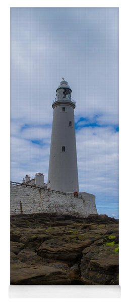 Whitley Bay St Mary's Lighthouse Yoga Mat