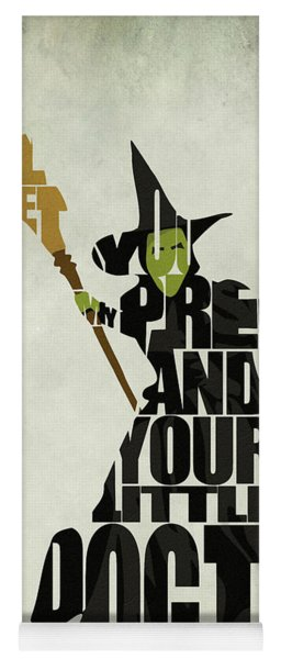 Wicked Witch Of The West Yoga Mat