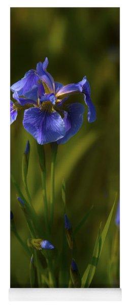 Wild Alaskan Iris Yoga Mat