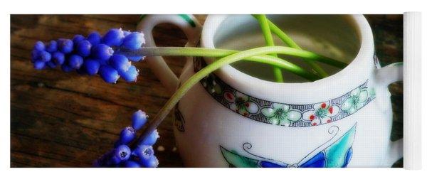 Wild Flowers In Sugar Bowl Yoga Mat