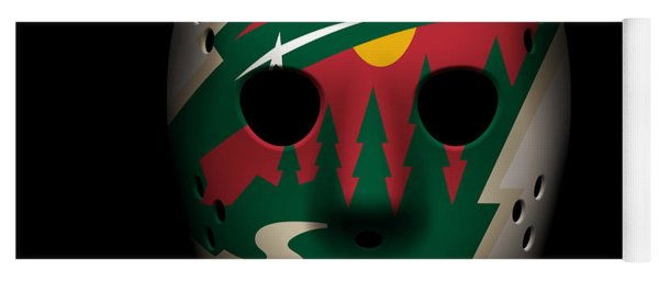 Wild Goalie Mask Yoga Mat