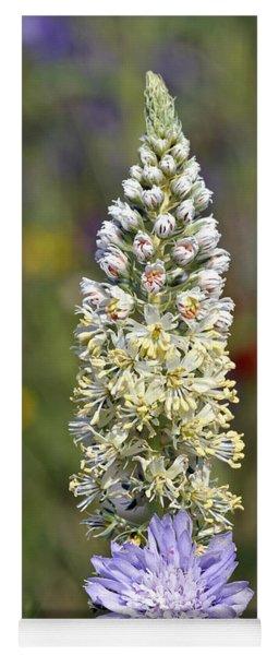 Wild Mignonette Flower Yoga Mat