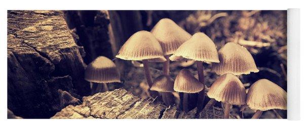 Wild Mushrooms Yoga Mat