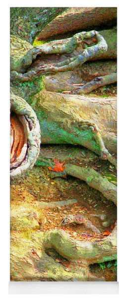 Wild Roots By Christopher Shellhammer Yoga Mat