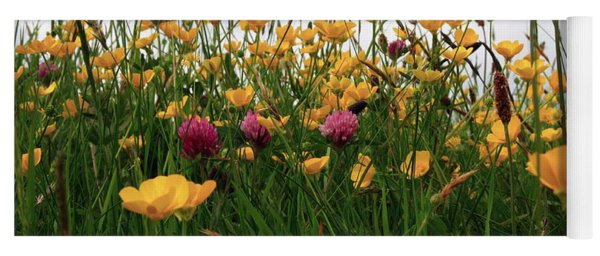 Wildflowers Yoga Mat