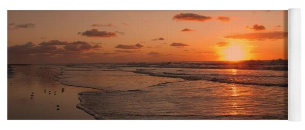 Wildwood Beach Sunrise II Yoga Mat