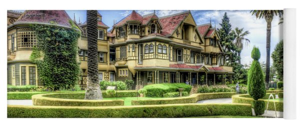 Winchester Mystery House Yoga Mat