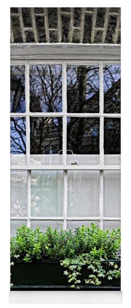 Window In London Yoga Mat