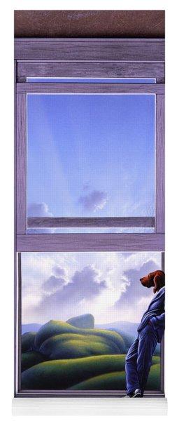 Window Of Dreams Yoga Mat
