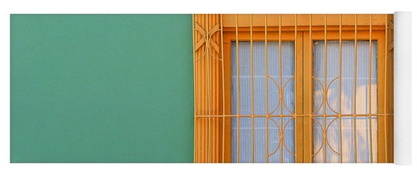 Windows Of The World - Santiago Chile Yoga Mat