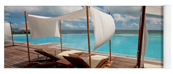 Windy Day At Maldives Yoga Mat