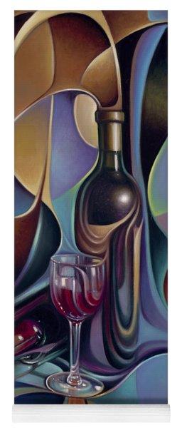 Wine Spirits Yoga Mat