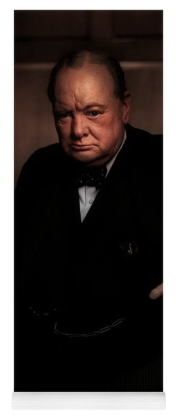 Winston Churchill Yoga Mat