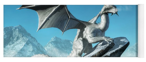 Winter Dragon Yoga Mat