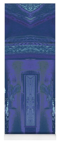 Winter Dusk Homecoming Yoga Mat
