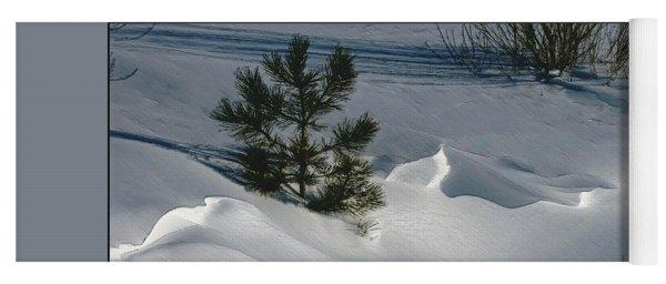 Winter Light Yoga Mat