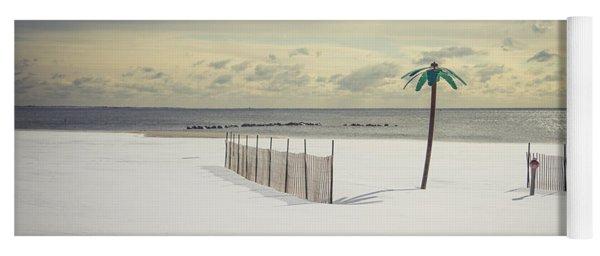 Winter Paradise Yoga Mat