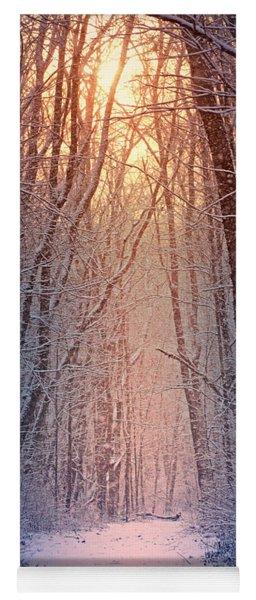 Winter Pathway Yoga Mat