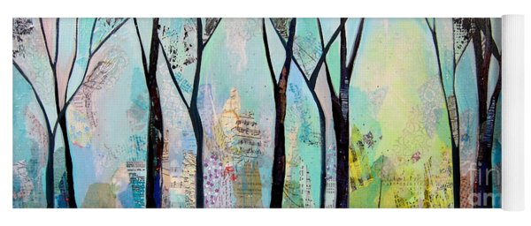 Winter Wanderings II Yoga Mat