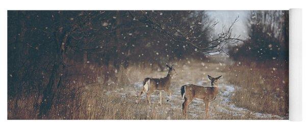 Winter Wonders Yoga Mat