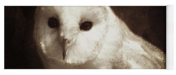 Wisdom Of An Owl Yoga Mat