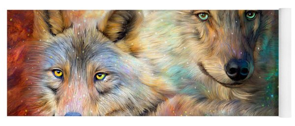 Wolf - Spirit Of The Universe Yoga Mat