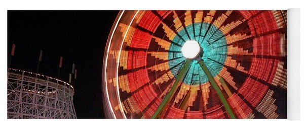 Wonder Wheel - Slow Shutter Yoga Mat