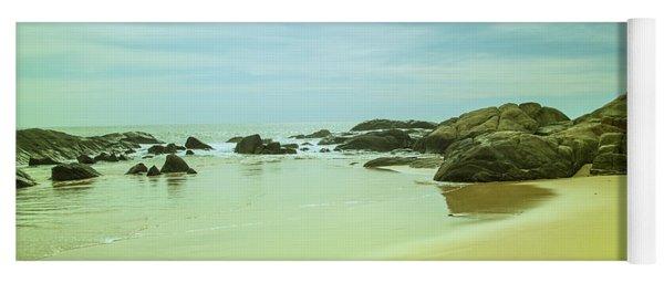 Wonderful Beachlandscape Yoga Mat