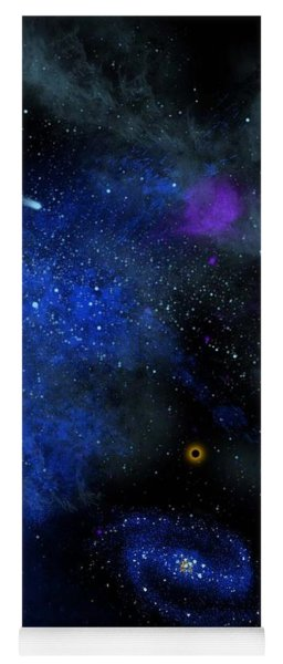 Wonders Of The Universe Mural Yoga Mat