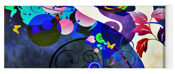 Wondrous Night Yoga Mat
