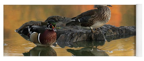 Wood Ducks Yoga Mat