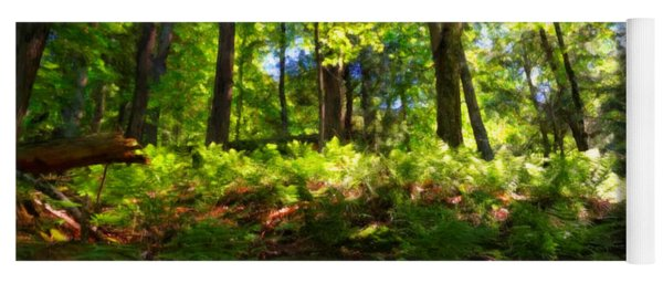 Woodland Yoga Mat
