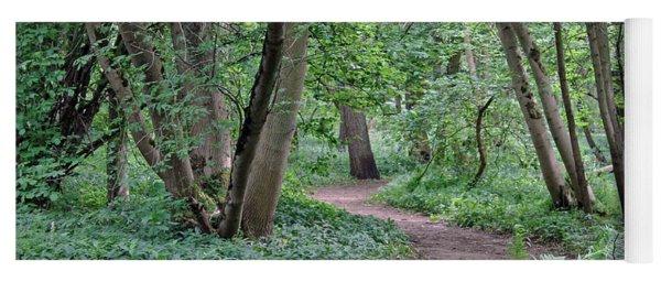 Woodland Path  Yoga Mat