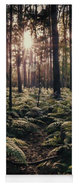Woodland Trees Yoga Mat